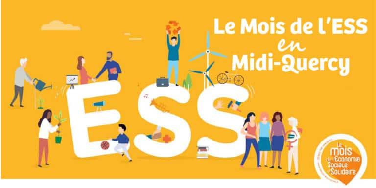 Le mois de l'ESS en Midi-Quercy